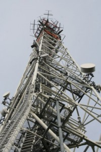 Bild Antennenmast Saalfeld